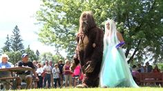Bigfoot Fever Draws Animal Planet and Wedding to Remer