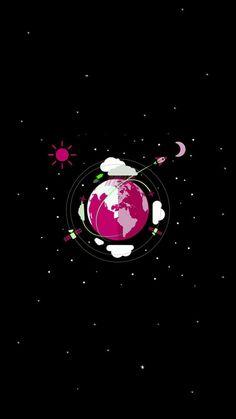(notitle) iPhone X Wallpaper 297096906663670341 Planets Wallpaper, Wallpaper Space, Pink Wallpaper Iphone, Dark Wallpaper, Galaxy Wallpaper, Wallpaper Backgrounds, Animes Wallpapers, Cute Wallpapers, Arte Black