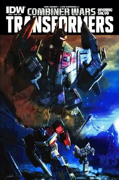 IDW Cover of the Day: Transformers #39
