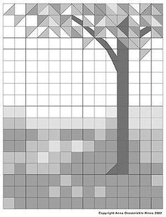 Tree quilt pattern by gena