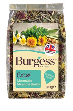 Burgess Excel Nature Mountain Meadow 120 g