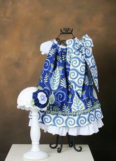 Christmas Pillow Case Dress PDF Sewing Pattern Sew Stylish W/Detachable Bow 6 Mos. - 14. $9.95, via Etsy.