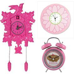 Pink Clocks