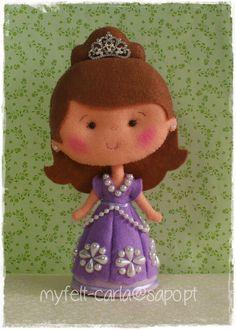 Princesa Sofia em feltro!