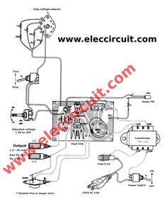 adjustable voltage regulator using Useful Arduino Projects, Automatic Battery Charger, Electrical Circuit Diagram, Power Supply Circuit, Car Audio Amplifier, Tech Hacks, Voltage Regulator, Electronic Engineering, Ac Power