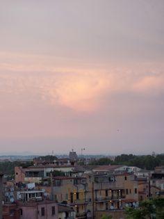 Sunset sky in Trastevere, Rome Travel Around The World, Around The Worlds, Sunset Sky, Canada Travel, Rome, Travelling, Celestial, Outdoor, Outdoors