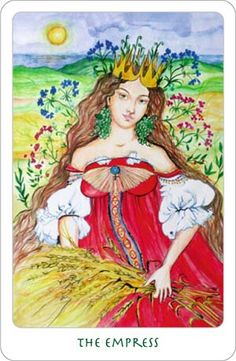I love this card from the Clover Tarot. Unfortunately, I don't like all of the cards, so I will not be buying this deck.