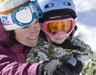 A family that skis together, stays together. Whistler, Canada. Winter, Ski, Snowboard