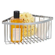 Buy John Lewis Deep Shower Corner Basket Online at johnlewis.com