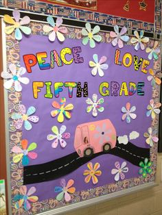 Spring-y hippie bulletin board