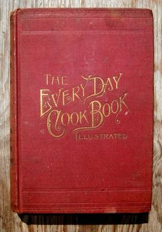 ANTIQUE COOKBOOK Cookery RECIPES 1892 Vintage Victorian CONFECTIONERY Pastry OLD