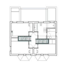 Gallery - Semi-detached / Delvendahl Martin Architects - 14
