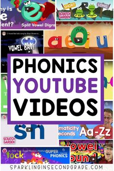 YOUTUBE VIDEOS TO TEACH PHONICS