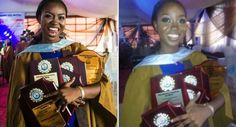 With CGPA Of 4.97, Nigerian Lady Graduates As Bells University's Best Student