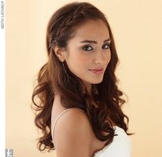 The Braided Band  Try this pretty plait with an updo too.Hair and makeup by Once Upon A Bride  $325 plus hotel stay