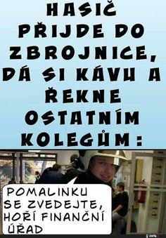 Obrázky - Jak to chodí u hasičů - Zábavnej.cz