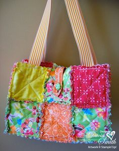 Rag Purse Visit & Like our Facebook page! https://www.facebook.com/pages/Rustic-Farmhouse-Decor/636679889706127