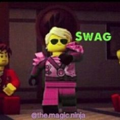 Kai is jealous of my swag !!! THEY HATING