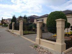 231 Pillar Helping To Create An Enclosed Front Garden