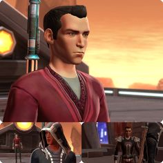 SWTOR Sith Inquisitor Arekesh stellt sich den Sith Prüfungen auf Korriban.