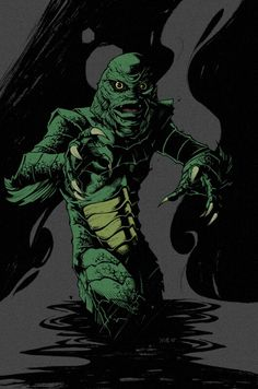 Creature the from black lagoon monsters universal