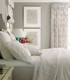 Master Bedroom Color Palette Inspiration Benjamin Moore - Classic Grey