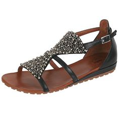 Sandale von La femme plus in schwarz lf-sf06-8 - http://on-line-kaufen.de/la-femme-plus/sandale-von-la-femme-plus-in-schwarz-lf-sf06-8