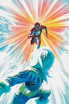 The Flash vs Captain Cold - Alex Ross