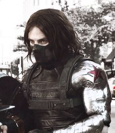 More costume frontage for Winter Soldier