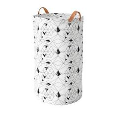 PLUMSA Laundry bag, white, black - IKEA