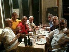 Serata tra vecchi amici al #ristorante Piccolo Arancio