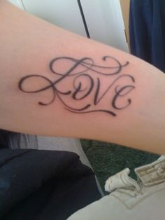 I adore this lettering. Perhaps it will one day be my TWLOHA tattoo <3