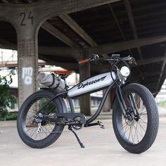 Vespa Bike, E Bicycle, Motorized Bicycle, Velo Beach Cruiser, Custom Moped, Mini Chopper, Motorised Bike, Cycling Accessories, 50cc