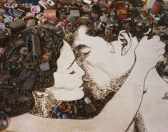 """Vik Muniz - artist and photographer I had the opportunity to enjoy """"Passione"""" amongst many of his other beautiful pieces at the Mint Museum in uptown Charlotte, N.C."""