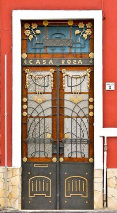 #Wrought Iron Front Door #Hungary