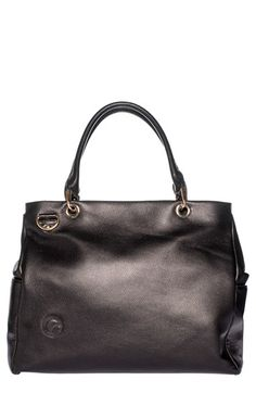Oemi Baby 'Parkside' Leather Diaper Bag w Protective metal feet.#Nordstrom