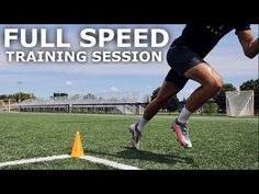 Full Speed Training Session | Training Drills To Improve Speed & Acceleration For Football - YouTube Football Youtube, Best Cardio Workout, Speed Training, Drills, Health Fitness, Soccer, Running, Sports, Gym