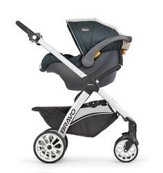 Chicco | Chicco Bravo Trio Travel System Stroller - Lilla