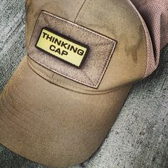 3a048dad6ff Austere Provisions Company Thinking Cap. I should like to own this hat. Tactical  Patches