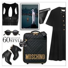 """""""Pack and Go: Rio de Janeiro"""" by danielle-487 ❤ liked on Polyvore featuring Yves Saint Laurent, Duskii, Moschino, Paul Andrew and Packandgo"""