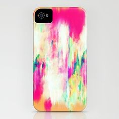 DIY iphone case- all you need is nail polish and a clear case!!!