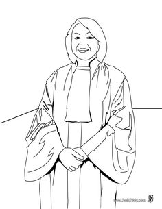 judge coloring page to offer you nice lawyer coloring pages to print out and color