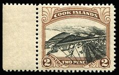 COOK ISLANDS 1932 Pictorials 2d Canoe with centre inverted (unissued like this) marginal example from left of the sheet, fresh MUH, Cat as hinged £500.  Anbieter Phoenix Auctions  Saalauktion Ausruf: 525.00 AUD