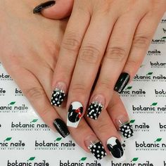 Lovely Mickey Mouse Nails Art Tutorials Youll Want to Try ★ See more: https://naildesignsjournal.com/mickey-mouse-nails-tutorials/ #nails