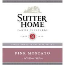 10 Top Sweet Moscato Wine Picks: Sutter Home Pink Moscato NV (CA) $6