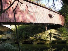 covered bridges....