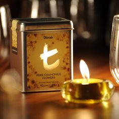 Adding spice to the #Christmas season by giving the perfect gift- #tea! This special Christmas gift matches a #Dilmah t-Series tea tin with a festive tea light.