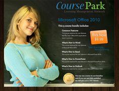 course park landing page