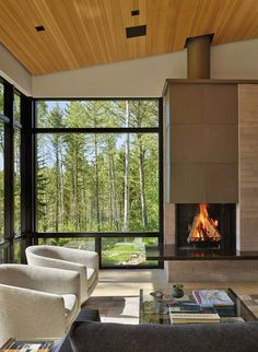 Mountain home in Wyoming inspired by its surroundings More