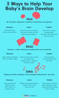 3 Easy Ways You Can Help Your Baby's Brain Develop Newborn, Infant and Toddler Brain Development: Why You Should Talk, Read and Sing to Your Baby - Baby Development Tips Pinterest Baby, Baby Life Hacks, Mom Hacks, Baby Lernen, Baby Information, Baby Care Tips, Baby Health, Newborn Care, Newborn Baby Tips